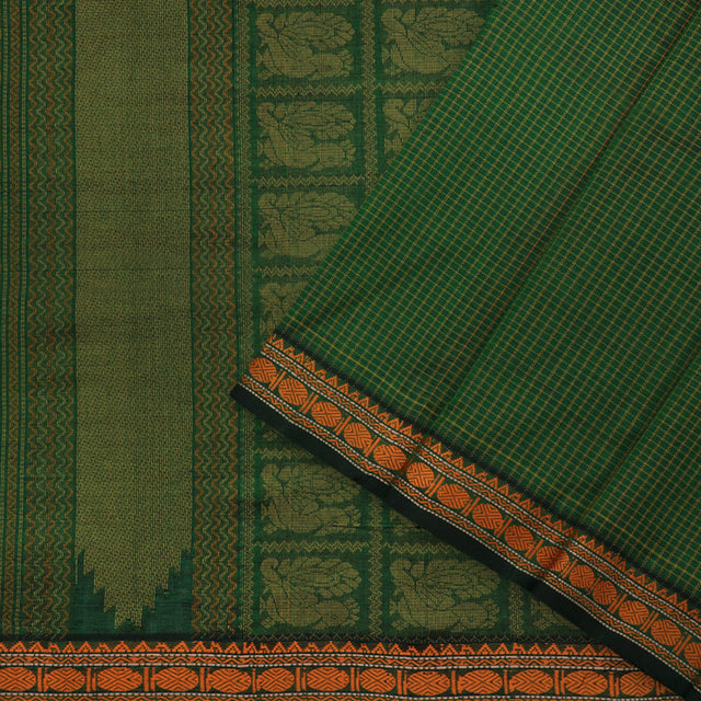 Kanakavalli Silk/Cotton Sari 071-08-100272 - Cover View