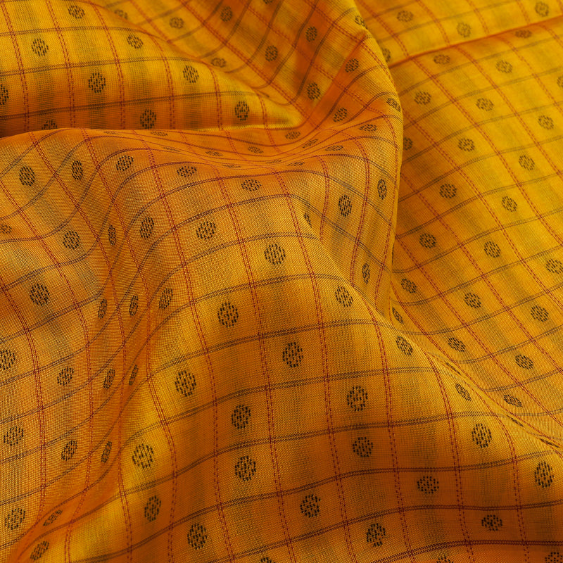 Kanakavalli Silk/Cotton Sari 071-08-109421 - Fabric View