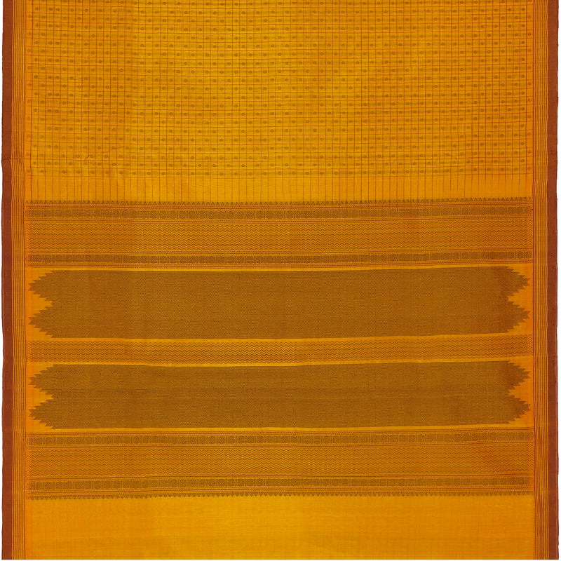 Kanakavalli Silk/Cotton Sari 071-08-109421 - Full View