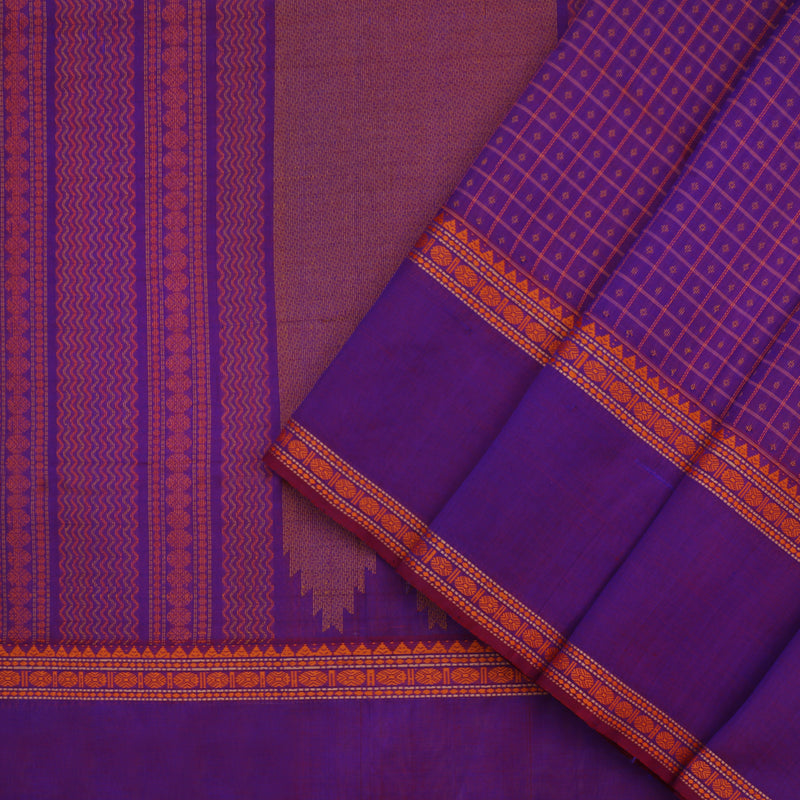 Kanakavalli Silk/Cotton Sari 071-08-112089 - Cover View