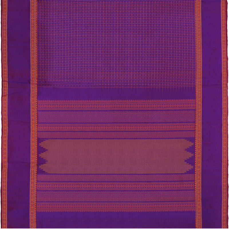 Kanakavalli Silk/Cotton Sari 071-08-112089 - Full View