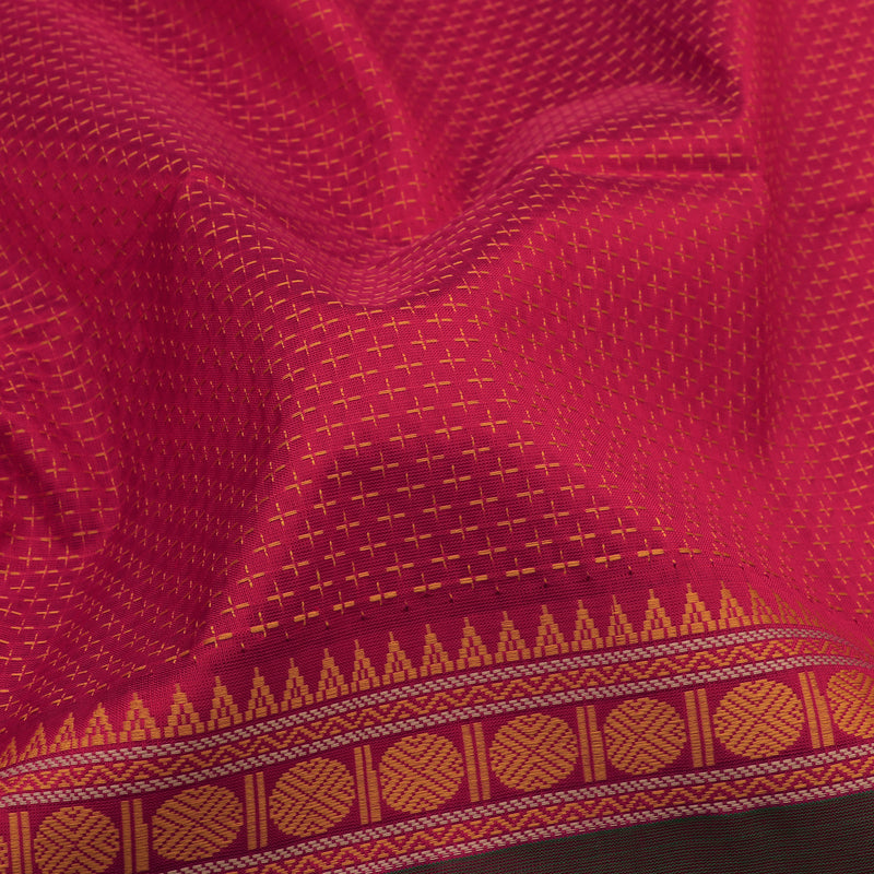 Kanakavalli Silk/Cotton Sari 071-08-112117 - Fabric View