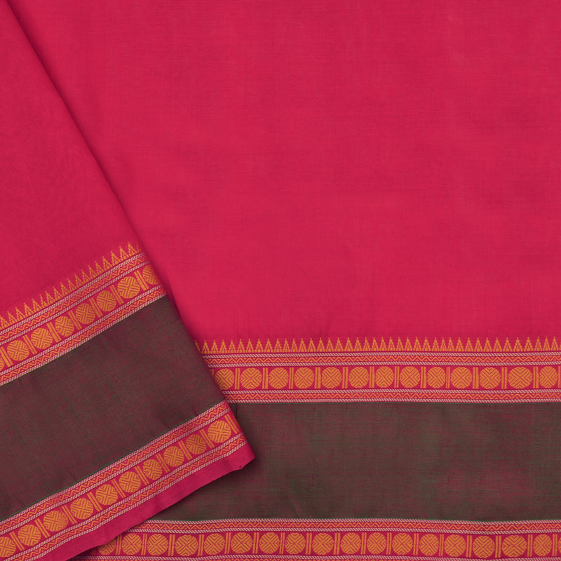 Kanakavalli Silk/Cotton Sari 071-08-112117 - Blouse View