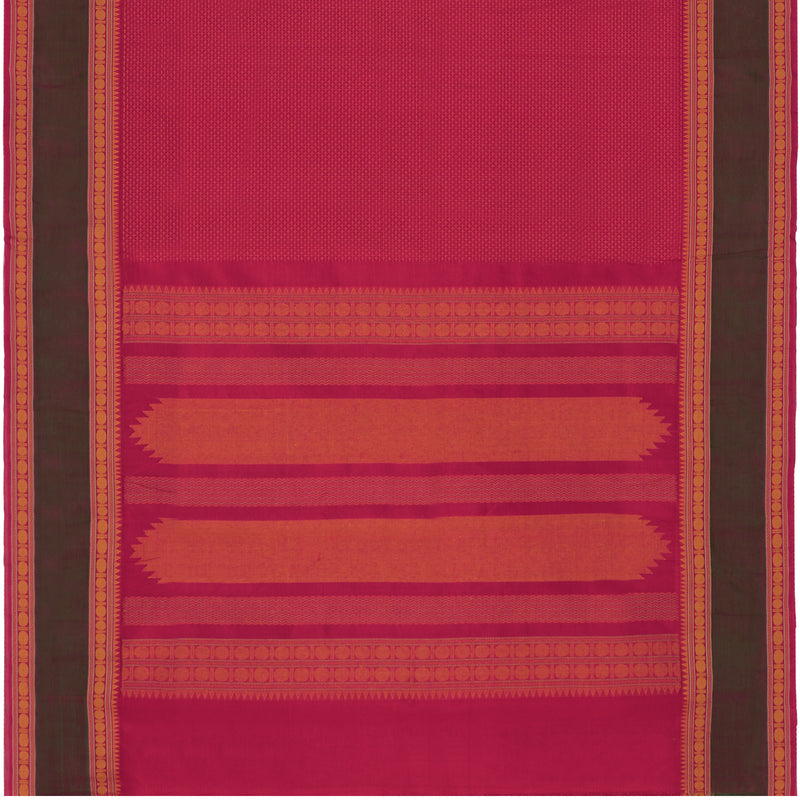 Kanakavalli Silk/Cotton Sari 071-08-112117 - Full View