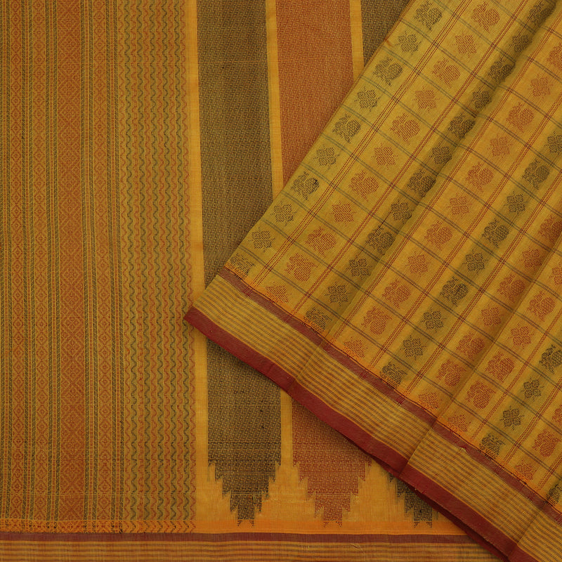 Kanakavalli Silk/Cotton Sari 071-08-112127 - Cover View