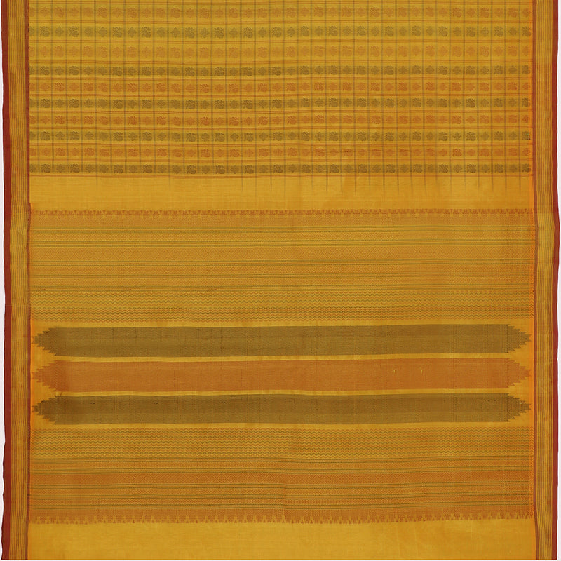 Kanakavalli Silk/Cotton Sari 071-08-112127 - Full View