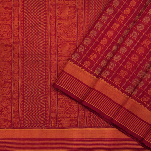 Kanakavalli Silk/Cotton Sari 071-08-98844 - Cover View