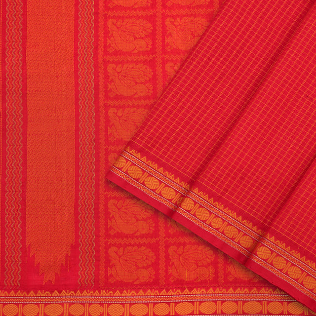 Kanakavalli Silk/Cotton Sari 071-08-98852 - Cover View