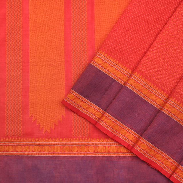 Kanakavalli Silk/Cotton Sari 071-08-98936 - Cover View