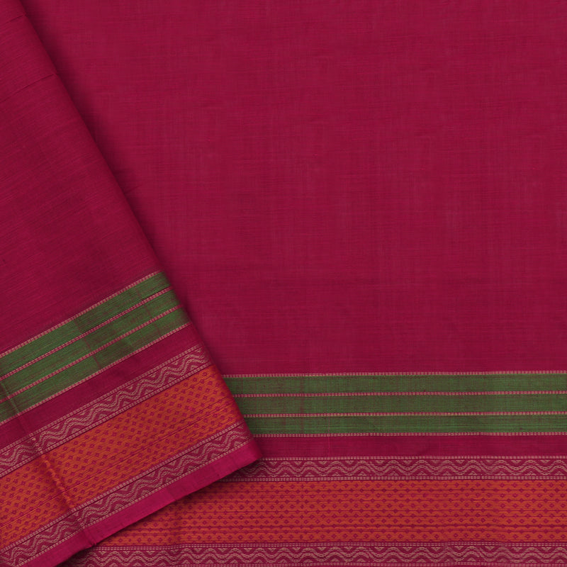 Kanakavalli Kanchi Cotton Sari 071-09-112224 - Blouse View