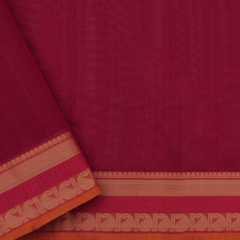 Kanakavalli Kanchi Cotton Sari 071-09-50475 - Blouse View