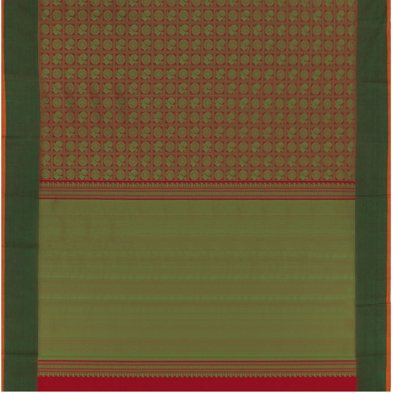 Kanakavalli Kanchi Cotton Sari 071-09-63818 - Full View