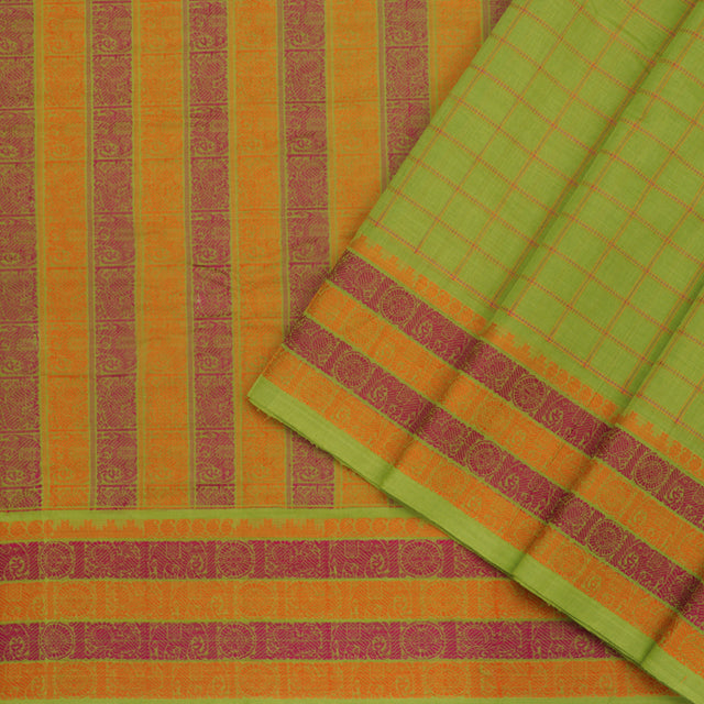 Kanakavalli Kanchi Cotton Sari 071-09-82379 - Cover View