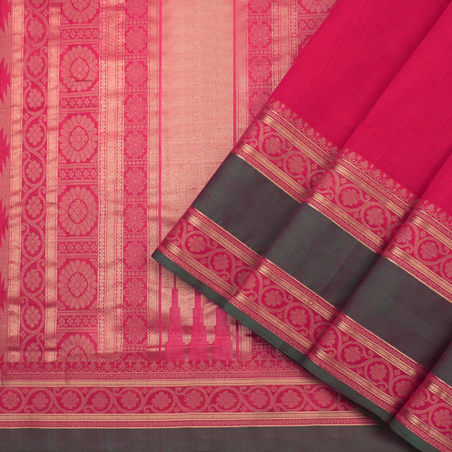 Kanakavalli Kanchi Cotton Sari 071-09-92212 - Cover View