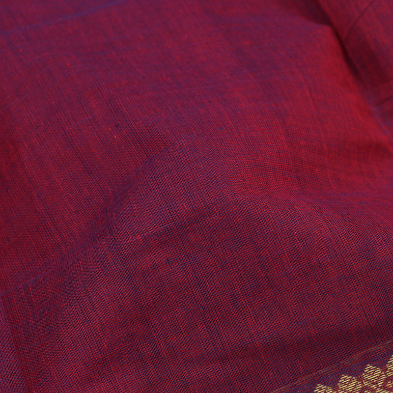 Kanakavalli Kanchi Cotton Sari 071-09-94138 - Fabric View