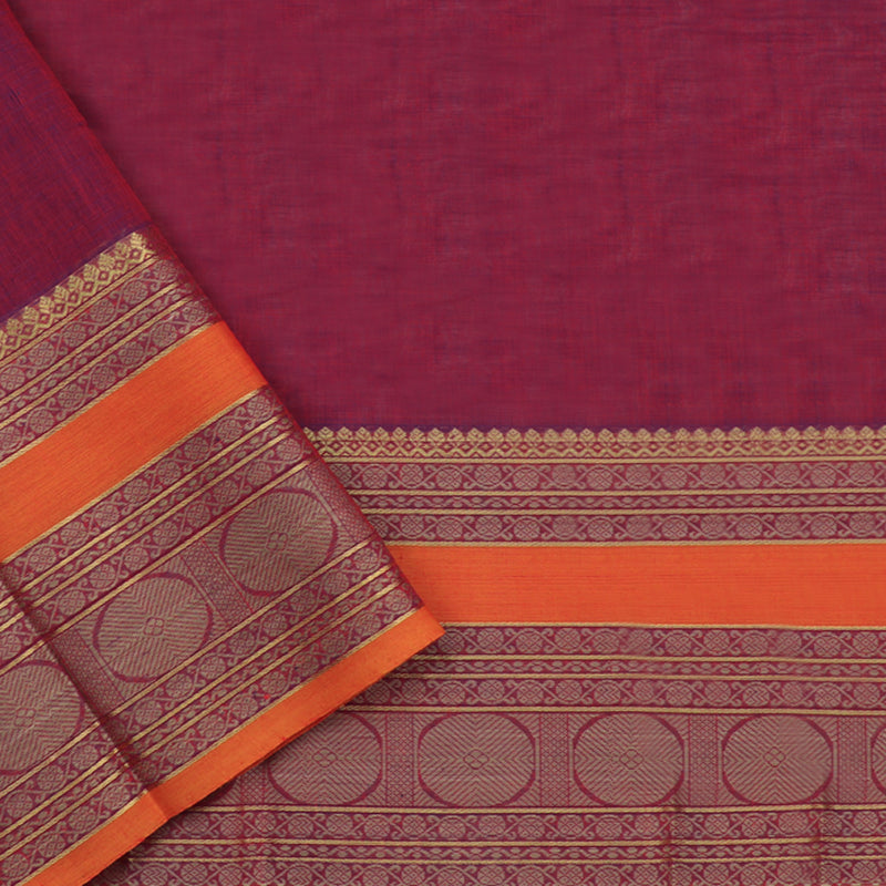 Kanakavalli Kanchi Cotton Sari 071-09-94138 - Blouse View