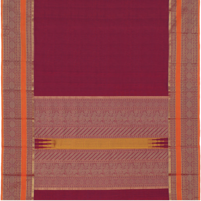 Kanakavalli Kanchi Cotton Sari 071-09-94138 - Full View