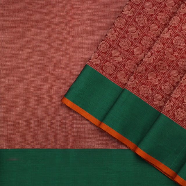 Kanakavalli Kanchi Cotton Sari 071-09-96764 - Cover View