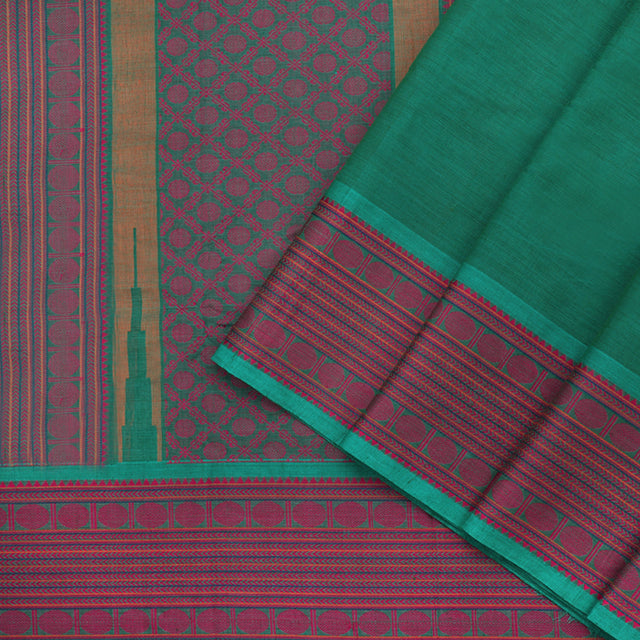 Kanakavalli Kanchi Cotton Sari 071-09-96835- Cover View
