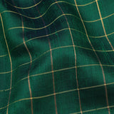 Kanakavalli Kattam - Vari Raw Silk Blouse Length 140-06-105253 - Fabric View