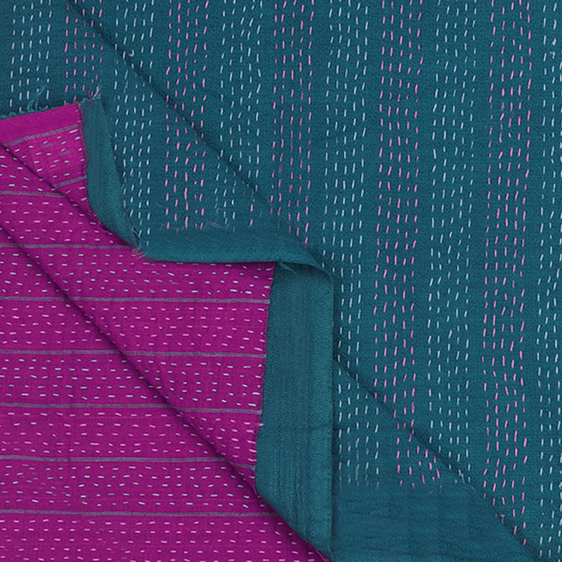Kanakavalli Kantha Doubleface Blouse Length 200-06-80706 - Cover View