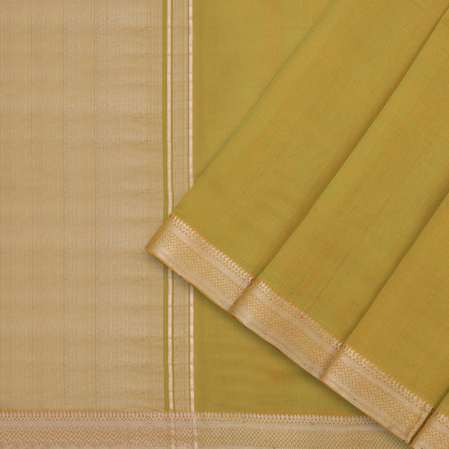 Kanakavalli Mangalgiri Cotton Sari 261-11-93337 - Cover View
