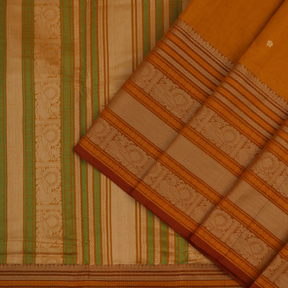 Kanakavalli Kanchi Cotton Sari 071-09-56411 - Cover View