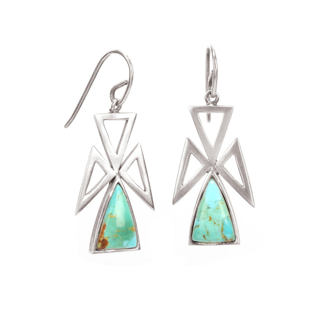 Ahalya Silver & Turquoise Earring 13_3065 - Cover View