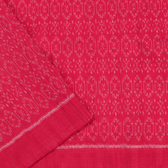 Kanakavalli Ikat Cotton Blouse Length 360-06-79975 - Cover View