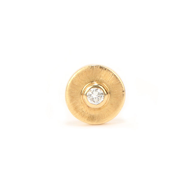 Ahalya Gold Round Brilliant Diamond Nosepin 8_4906 - Cover View