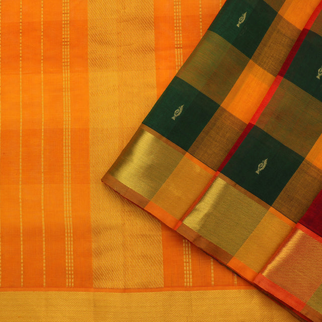 Kanakavalli Silk/Cotton Sari 550-08-89638 - Cover View