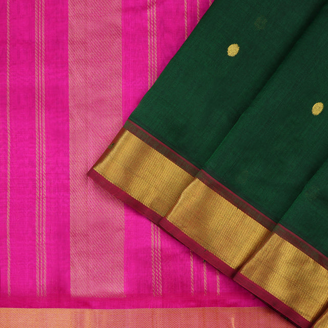 Kanakavalli Silk/Cotton Sari 100-08-54929 - Cover View