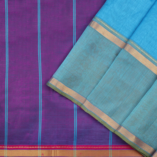 Kanakavalli Silk/Cotton Sari 550-08-50831 - Cover View