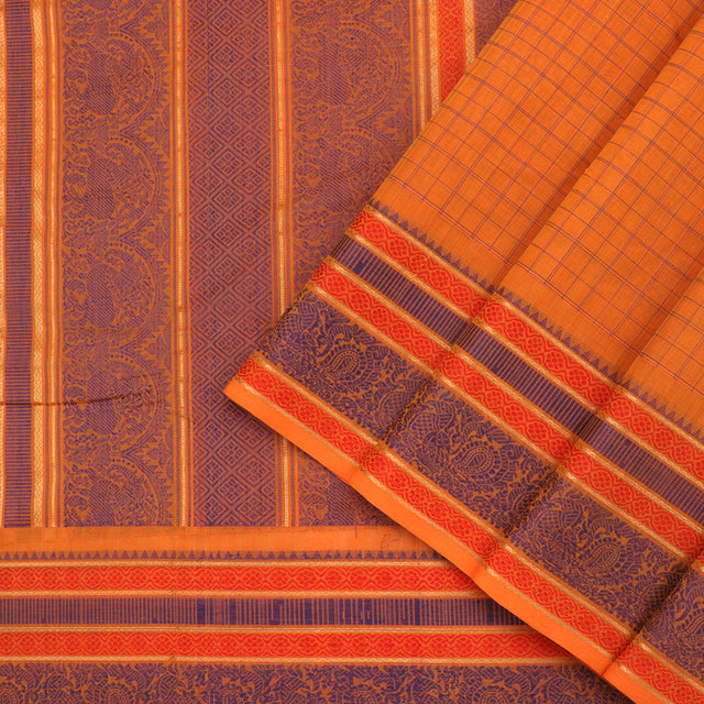 Kanakavalli Kanchi Cotton Sari 071-09-76014 - Cover View