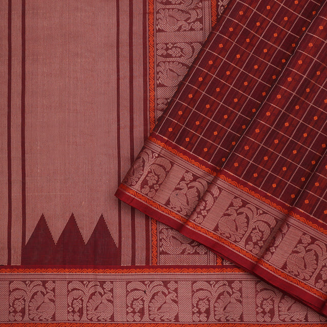 Kanakavalli Kanchi Cotton Sari 071-09-96790 - Cover View