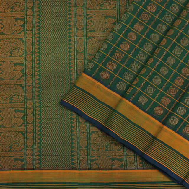 Kanakavalli Silk/Cotton Sari 071-08-102201 - Cover View