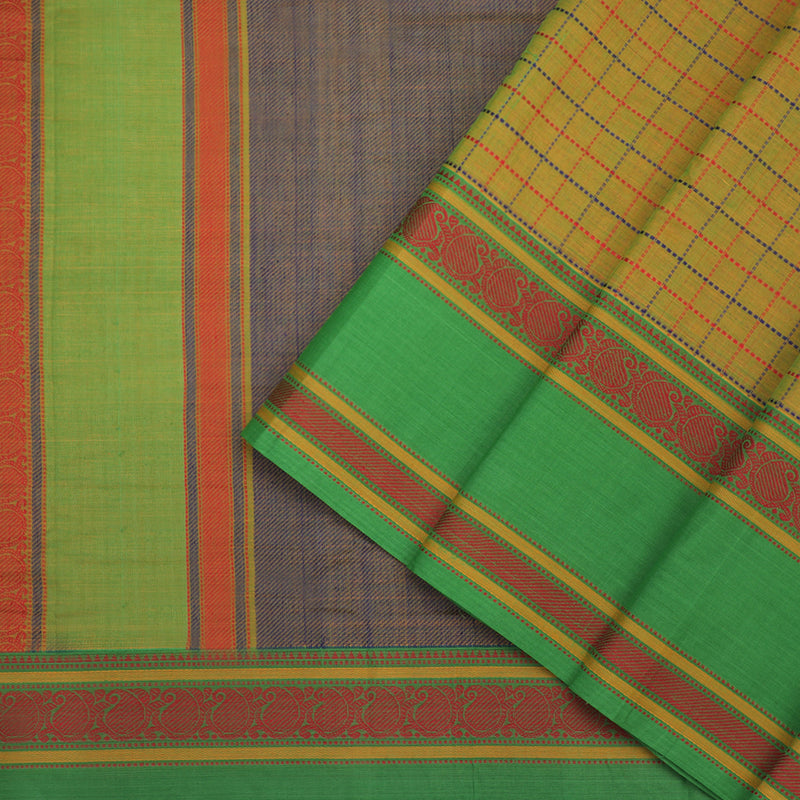 Kanakavalli Kanchi Cotton Sari 071-09-102290 - Cover View