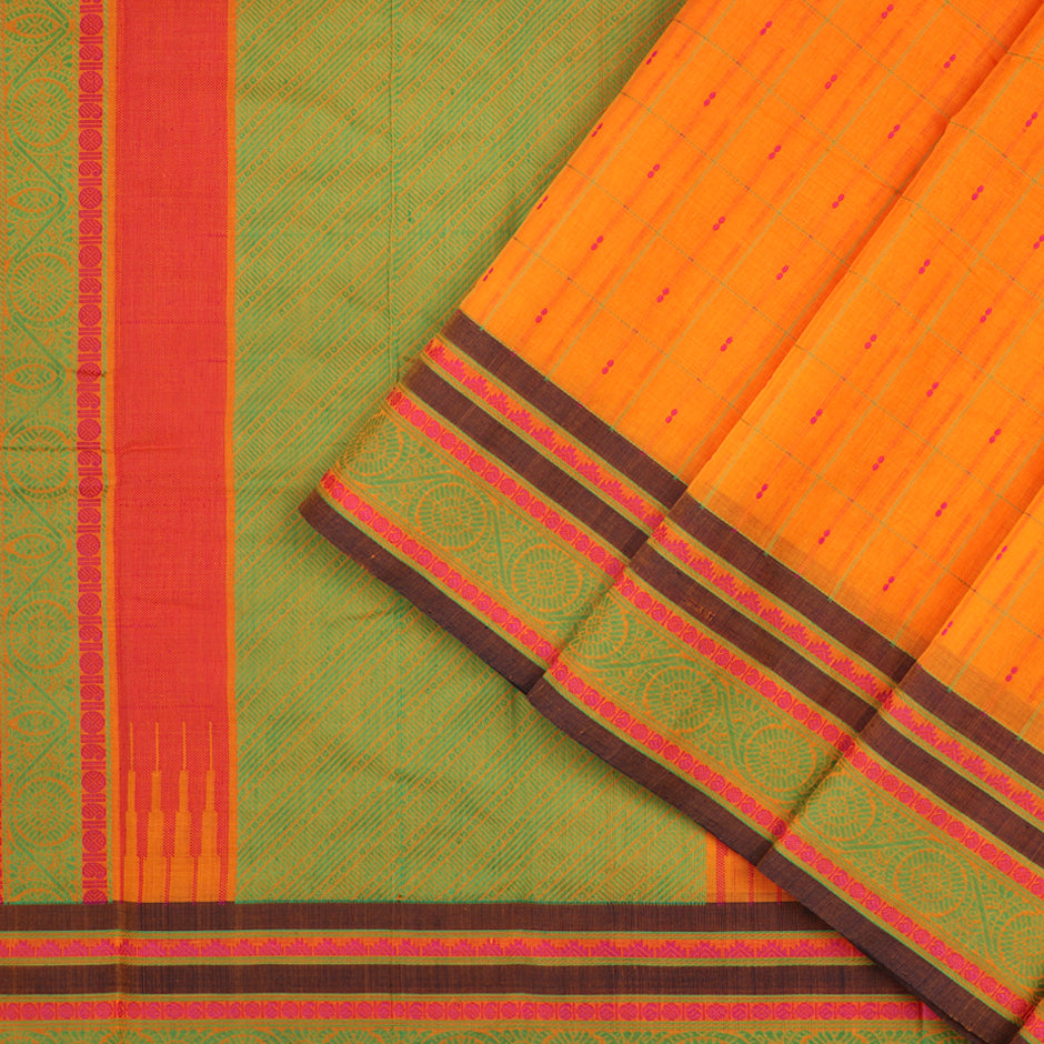 Kanakavalli Kanchi Cotton Sari 071-09-56499 - Cover View