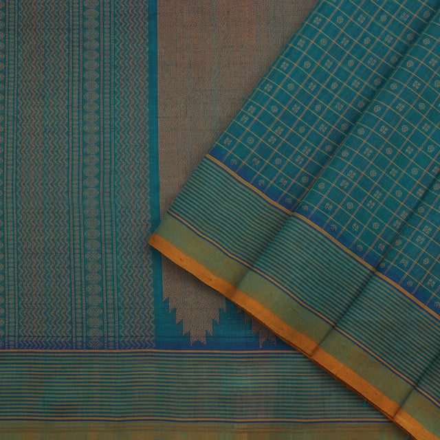 Kanakavalli Silk/Cotton Sari 071-08-101593 - Cover View
