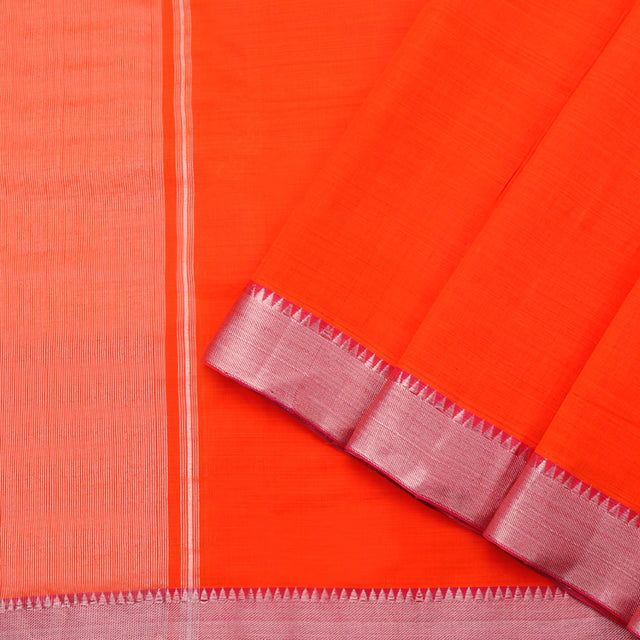 Kanakavalli Mangalgiri Cotton Sari 261-11-87787 - Cover View
