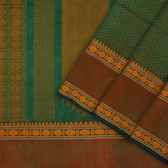 Kanakavalli Silk/Cotton Sari 071-08-101703 - Cover View