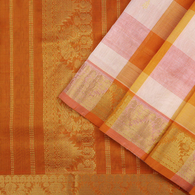 Kanakavalli Silk/Cotton Sari 100-08-54924 - Cover View