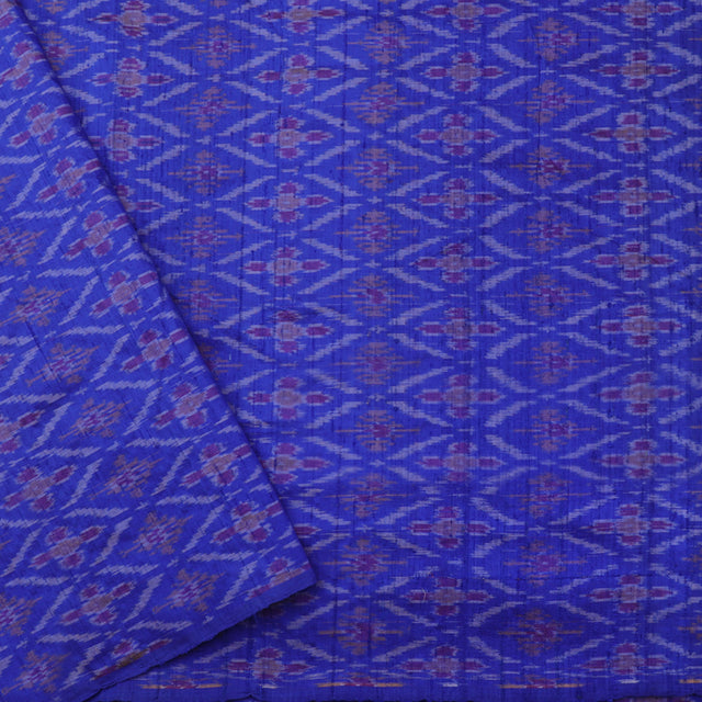 Kanakavalli Ikat Silk Blouse Length 585-06-65168 - Cover View