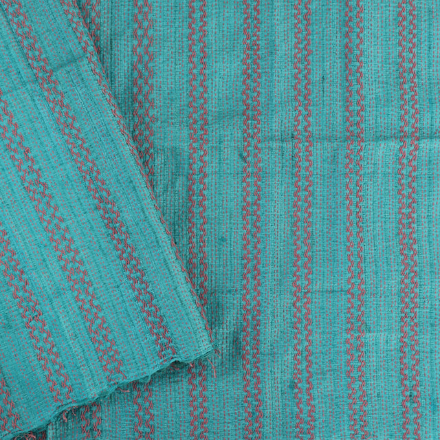 Kanakavalli Kantha Raw Silk Blouse Length 400-06-24646 - Cover View