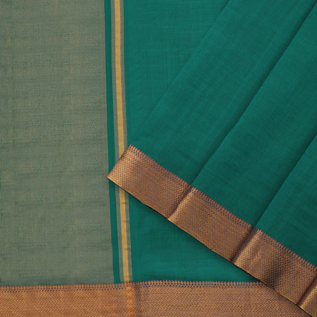 Kanakavalli Mangalgiri Cotton Sari 261-11-95584 - Cover View