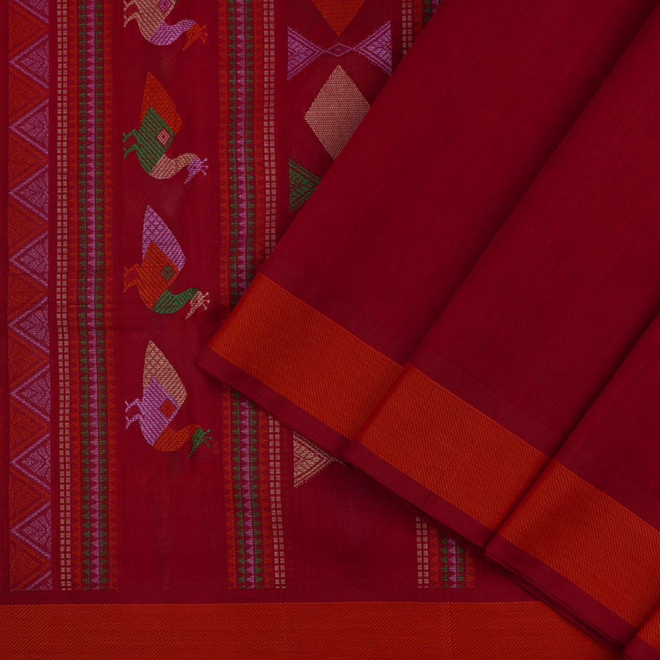 Kanakavalli Kanchi Cotton Sari 071-09-30651 - Cover View