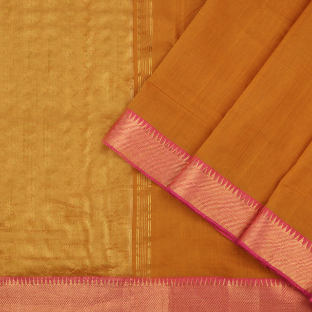 Kanakavalli Mangalgiri Cotton Sari 260-11-53390 - Cover View
