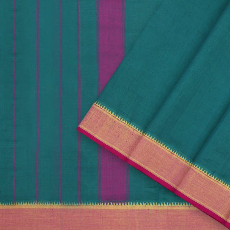 Kanakavalli Mangalgiri Cotton Sari 260-11-53574 - Cover View