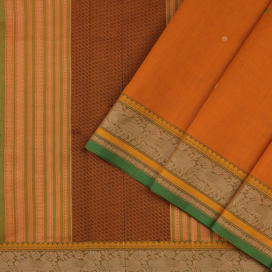 Kanakavalli Kanchi Cotton Sari 071-09-59544 - Cover View