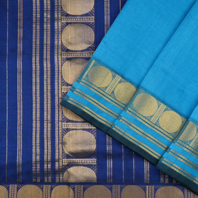 Kanakavalli Silk/Cotton Sari 100-08-44472 - Cover View